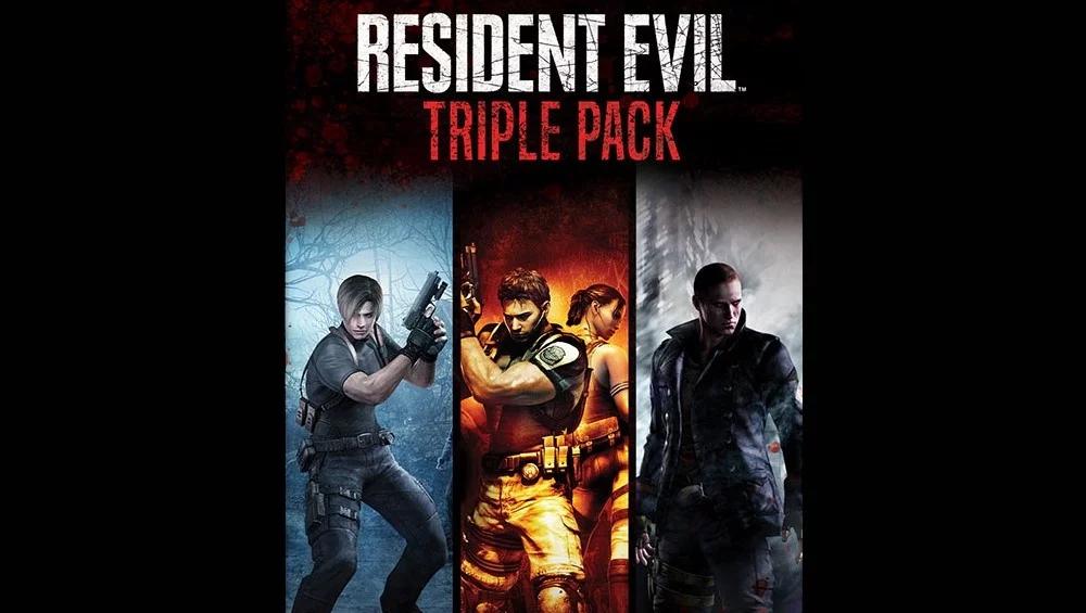 Resident Evil Triple Pack.