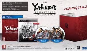 Physical Yakuza Remastered Collection confirmed for the West.