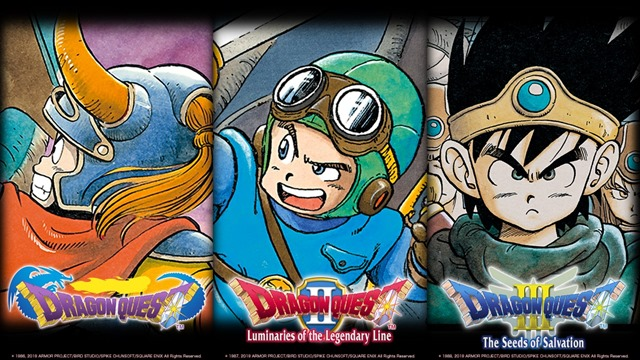 Dragon Quest Compilation heading West