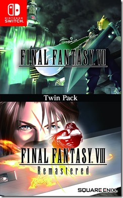 Final Fantasy 7 & 8 Twinpack