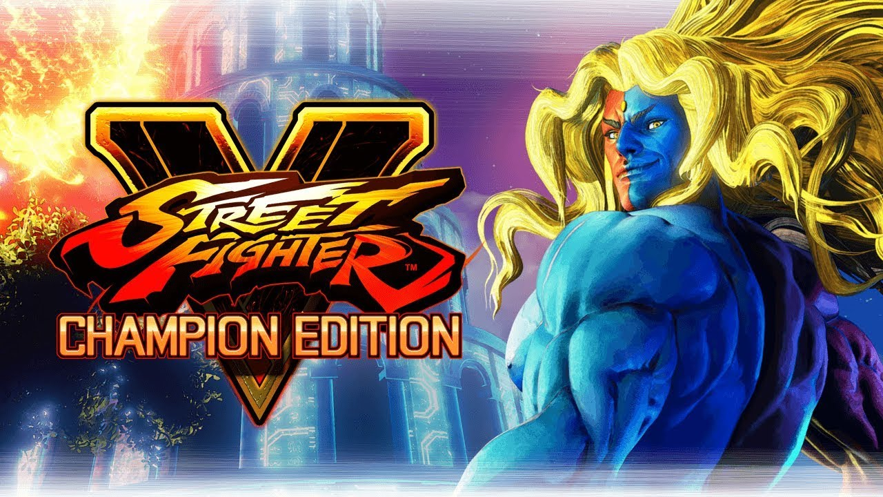 Street Fighter V Champion Edition.