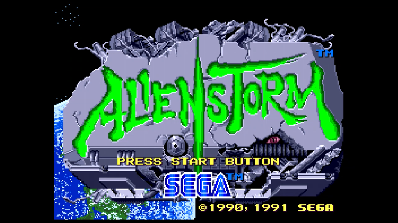 Alien Storm Review (Sega Mega Drive)
