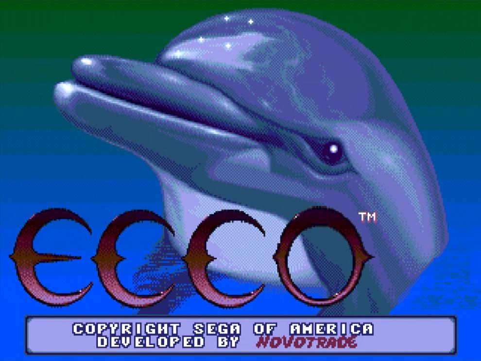 Ecco The Dolphin Review (Sega Mega Drive)