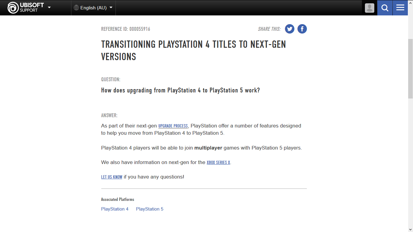 Ubisoft Says No