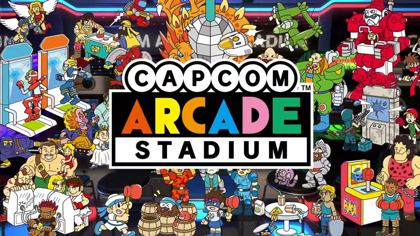 Capcom Arcade Stadium Is Coming To PS4, Xbox One & Steam