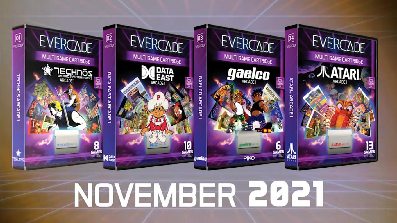 Evercade Arcade Cartridges