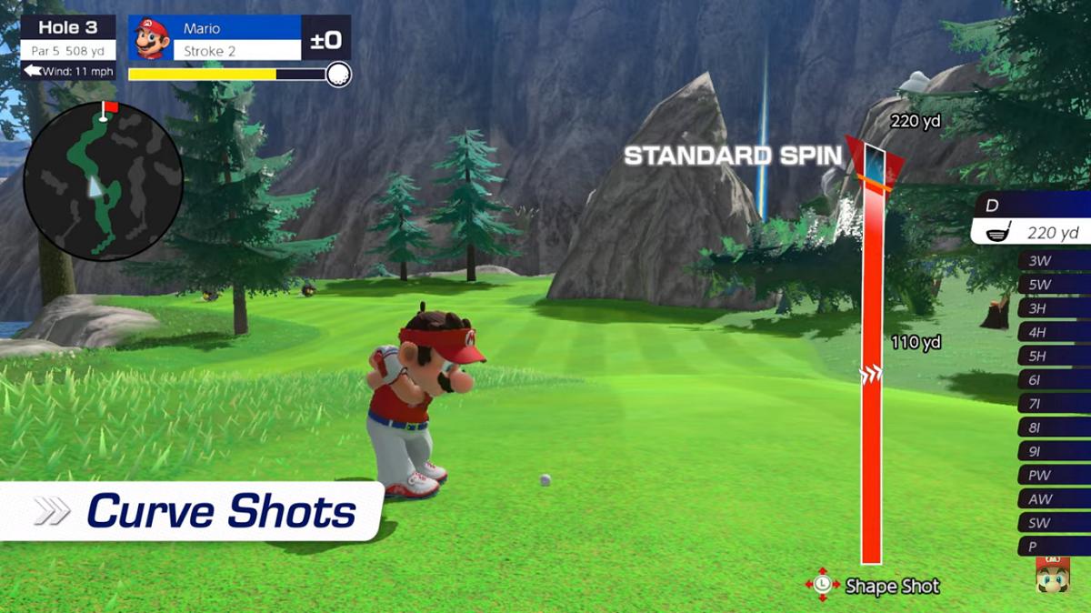 Mario Golf's New Trailer