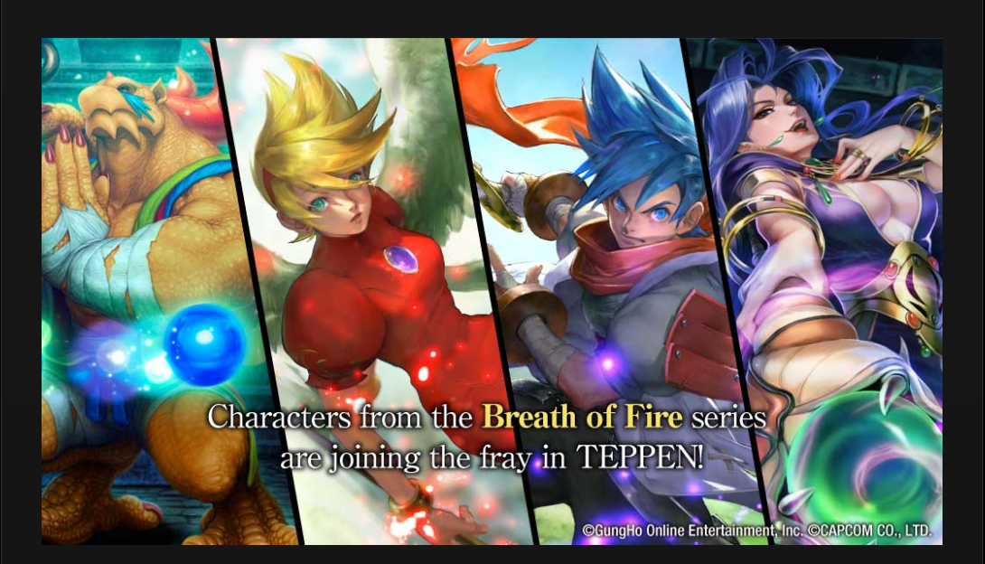 Breath Of Fire To Teppen