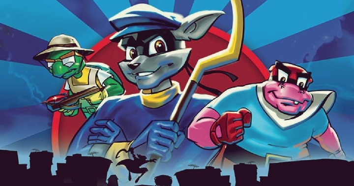 Discovering Sly Cooper.