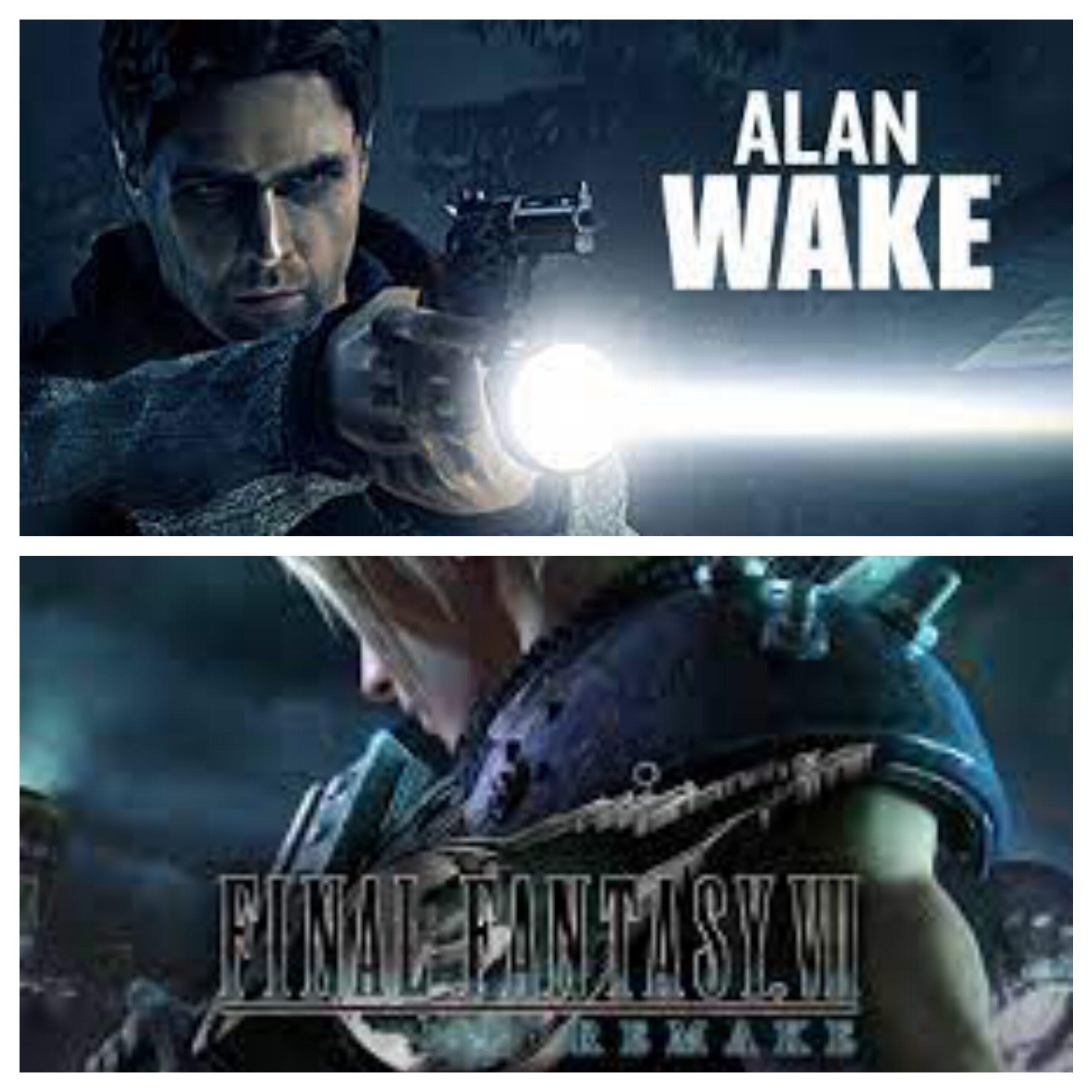 Alan Wake Remaster And FF7 Remake?