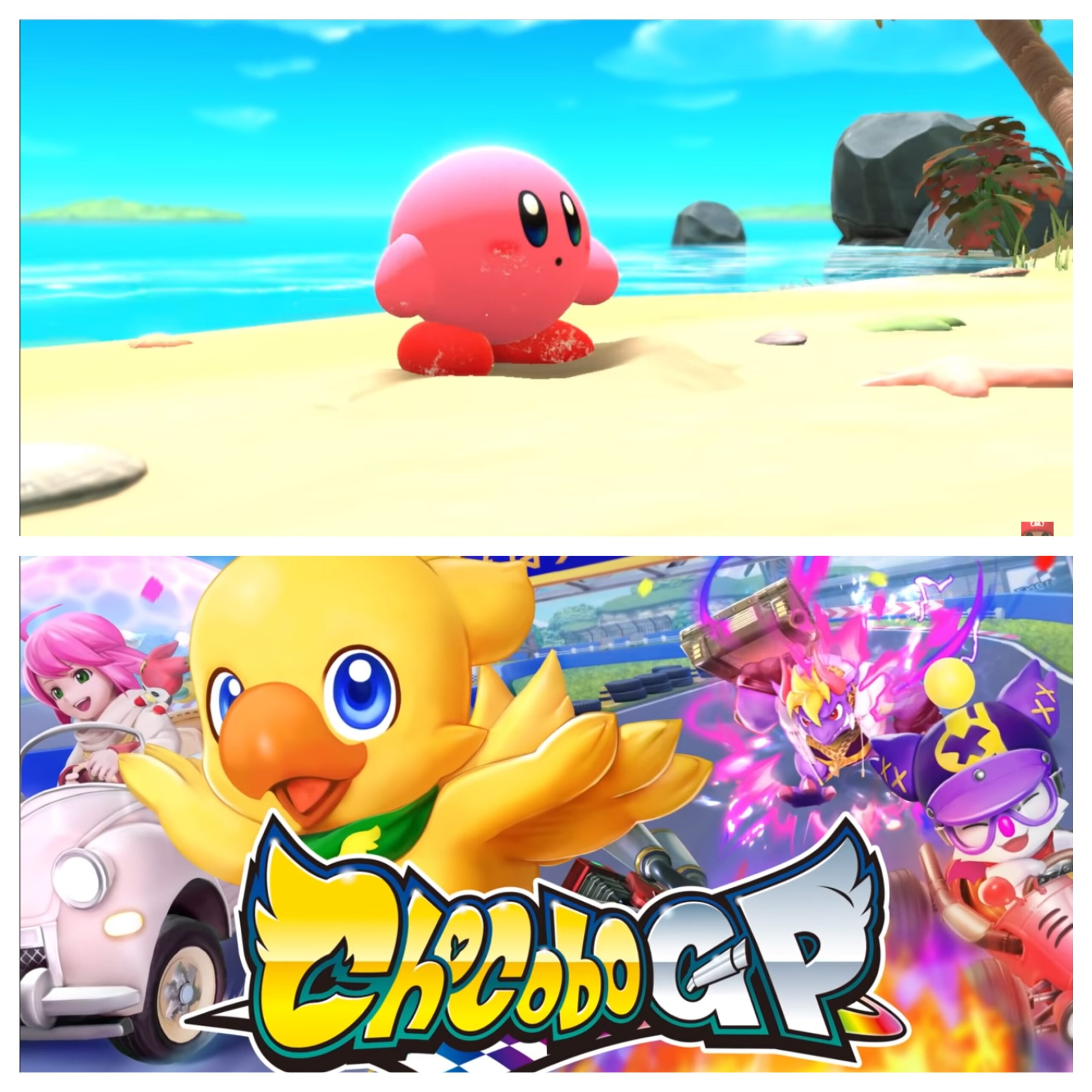 Kirby And The Forgotten Land & Chocobo GP
